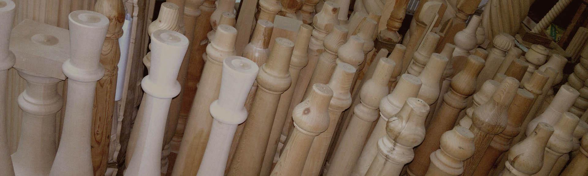 Tornitura Effepi, Fresatura Elicoidale, Gambe tavolo, Scala in legno ...